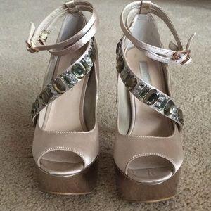 H by Halston heels
